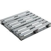 "Global Industrial™ Galvanized Steel Pallet - 36""L x 36""W x 4-3/4""H"