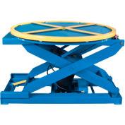 Bishamon® EZ Loader® Self-Leveling Pallet Carousel Positioner 250-4000 Lb. Cap.