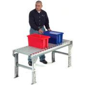"Omni Metalcraft 1.9"" Dia. Steel Roller Conveyor Straight Section GPHS1.9X16-12-6-10LL"