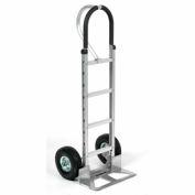Global Industrial™ Aluminum Hand Truck - Loop Handle - Pneumatic Wheels