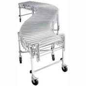 "NestaFlex® RLS18016S Portable Flexible 18""W Roller Conveyor 200 Lb./Foot"