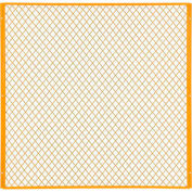 Global Industrial™ Machinery Wire Fence Partition Panel, 5'W, Yellow