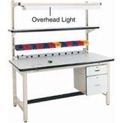 "72"" Overhead Light - Beige for Pro-line Workbench"