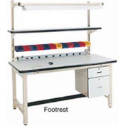 "72""L Footrest - Blue for Pro-Line Workbench"