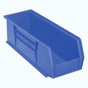 "Akro-Mils AkroBin® Plastic Stacking Bin 30234 - 5-1/2""W x 14-3/4""D x 5""H, Blue - Pkg Qty 12"