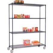 Nexelon™ Wire Shelf Truck 36x24x92 1200 Lb. Capacity