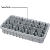 Dandux Length Divider 50P0016047 for Dividable Nesting Box 50P1805050, 50P1811050, Gray