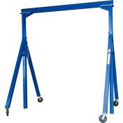 Vestil Steel Gantry Crane AHS-8-15-14 Adjustable Height 8000 Lb. Capacity