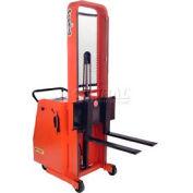 "PrestoLifts™ Battery Powered Lift Counter Balance Stacker C62A-800 62""H"