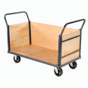 Euro Truck with 3 Wood Sides & Deck 48 x 24 2000 Lb. Capacity