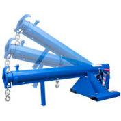 """Vestil Adjustable Pivoting Forklift Jib Boom Crane LM-OBT-4-24 4000 Lb. 24"""" Center"""