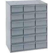 Durham Steel Storage Parts Drawer Cabinet 006-95 - 18 Drawers
