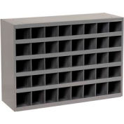 Durham Steel Storage Parts Bin Cabinet 359-95 Open Front - 40 Compartments