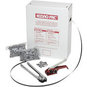 "Poly Strapping Kit 1/2"" x 7,200' Coil With Tensioner, Sealer & Seals in Self Dispensing Box"