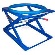 Vestil Pallet & Skid Carousel Turntable Rotating Ring with Stand PS-4045/CA - 4000 Lb. Cap.