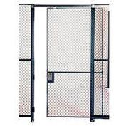 Husky Rack & Wire EZ Wire Mesh Partition Sliding Door - 6'Wx8'H