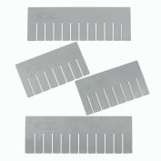 Width Divider DS93060 for Plastic Dividable Grid Container DG93060, Price for Pack of 6
