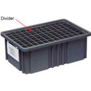 Quantum Conductive Dividable Grid Container Short Divider - DS93030CO, Sold Pack Of 6