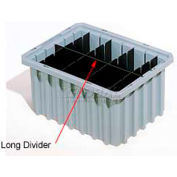Akro-Mils Long Divider 42105 For Akro-Grids Dividable Grid Containers 33105 Pack Of 6