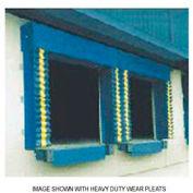Chalfant Blue Dock Door Seal Model 130 Heavy Duty 40 Ounce 8'W x 8'H