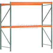 "Interlake Mecalux Pallet Rack Tear Drop Starter 108""W x 42""D x 144""H"