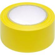 """INCOM® sécurité ruban jaune solide, 6 Mil épaisse, 2"""" W x 108' L, 1 rouleau"""
