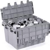 Buckhorn Attached Lid Container 39280 - 28x20-3/4x15-7/16 - Pkg Qty 3