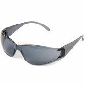 Boas® Eyewear Protection Safety Glasses - Black Frame, Smoke Lens