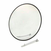 "Round Acrylic Convex Mirror, Outdoor, 26"" Dia., 160° Viewing Angle"