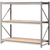 "Extra High Capacity Bulk Rack With Wood Decking 96""W x 24""D x 72""H Starter"