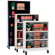 "Sandusky Additional Shelf for 36""W Steel Mobile Bookcase - Gray"
