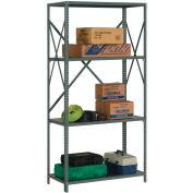 "Steel Shelving 18 Ga 36""Wx12""Dx73""H Open Clip Style 4 Shelf"