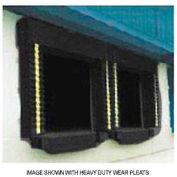 Chalfant Black Dock Door Seal Model 131 Heavy Duty 40 Ounce 8'W x 10'H