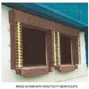 Chalfant Brown Dock Door Seal Model 130 Heavy Duty 40 Ounce 8'W x 8'H