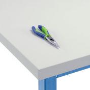 "Global Industrial™ Plastic Stratifié Square Edge Workbench Top, 72""W x 30""D x 1-5/8""H"