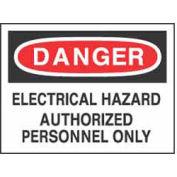Signes de sécurité Message Legend-Danger Danger électrique