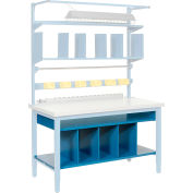 "60""W Lower Shelf Kit with Removable Dividers"