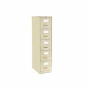 Global™ Vertical File Legal Size 5 Drawer, Desert Putty