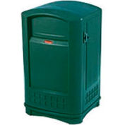 Rubbermaid Plaza Waste Receptacle - Green
