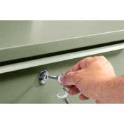Global Industrial™ Cylinder Lock For Shop Desks