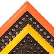 38in X 64in Safety Stance Black-Orange