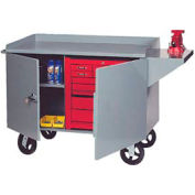 Mobile Heavy Duty Service Bench - 3000 Lb. Capacity