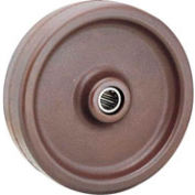 "4"" x 1-1/2"" Molded Plastic Wheel - Axle Size 3/4"""