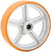 """Global Industrial™ 6"""" x 2"""" Polyurethane Wheel - Axle Size 5/8"""""""