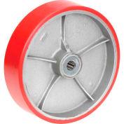 """12"""" x 3"""" Polyurethane Wheel - Axle Size 1"""""""