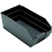 """Recycled Nesting Storage Shelf Bin QSB102BR 6-5/8""""W x 11-5/8""""D x 4""""H - Pkg Qty 30"""
