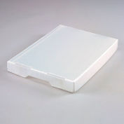 Corrugated Plastic Tote Lid Natural - Pkg Qty 10