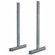 """Piétement luge Rack Double face verticale (série 1000), 54"""" D x 10' H, 14200 Lbs capacité"""