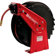 "Reelcraft RT425-OLP 1/4""x 25' 300 PSI Medium Duty Low Pressure Spring Retractable Hose Reel"