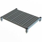 """36 X 24 Inch Adjustable Height Steel Work Platform - 9""""H To 14""""H"""